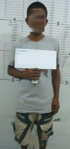 mugshot of an arrested person